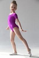Купальник гимнастический с коротким рукавом ПА Г 8.02 FENIX ST