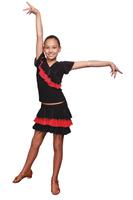 Комплект для бальных танцев La (юбка и топ) арт.К127