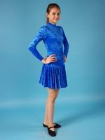 """Платье спортивное для бальных танцев Р 2.8 """"Прима"""""""