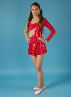 Платье спортивное для бальных танцев Р 3.1 Альера