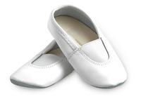 Чешки для танцев и гиманстики Korri (белый)