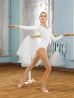 Купальник гимнастический (боди) для девочек SGK 201006