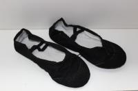 Балетки для танцев и гимнастики классические (черный)