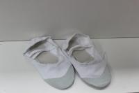 Балетки для танцев и гимнастики классические (белый)
